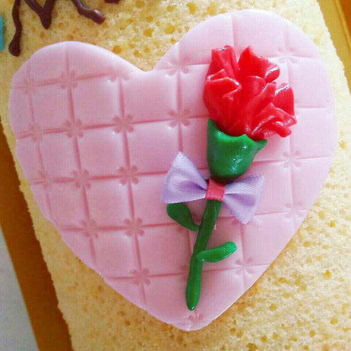 母の日は手作りケーキでお祝い♪簡単ロールケーキ&フォンダンの画像2