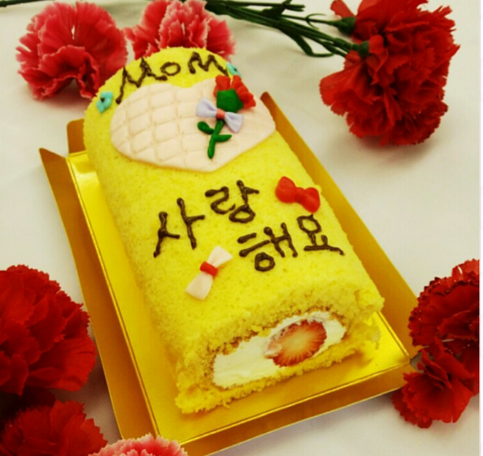 母の日は手作りケーキでお祝い♪簡単ロールケーキ&フォンダンの画像3
