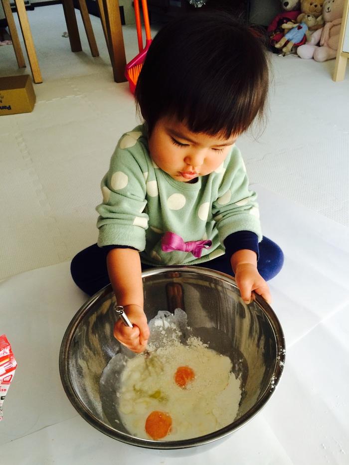 子どもと一緒に簡単クリスマスケーキ作りにチャレンジ♪の画像1