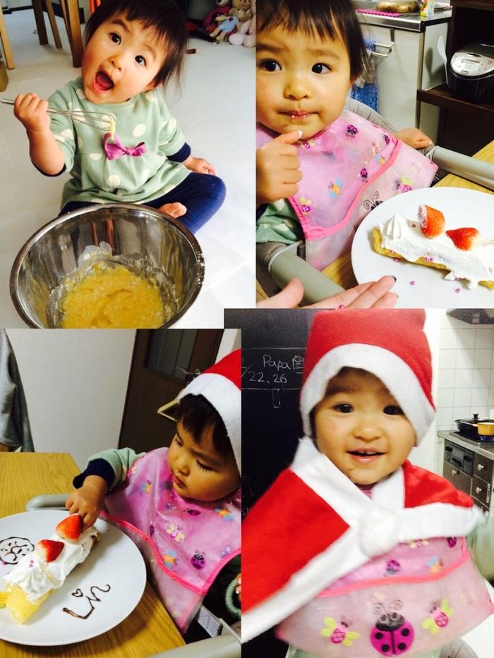 子どもと一緒に簡単クリスマスケーキ作りにチャレンジ♪の画像3