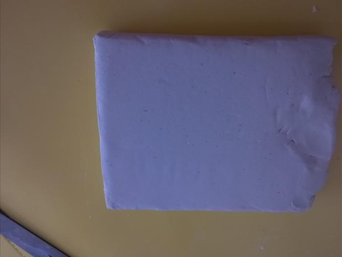 ダイソーの石粉粘土でお家作り!100円で簡単インテリアの画像2
