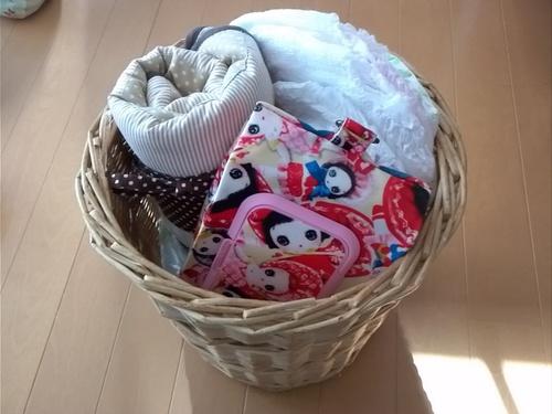 赤ちゃんグッズの便利収納!100円ショップやお気に入りのカゴを使ってすっきり!のタイトル画像