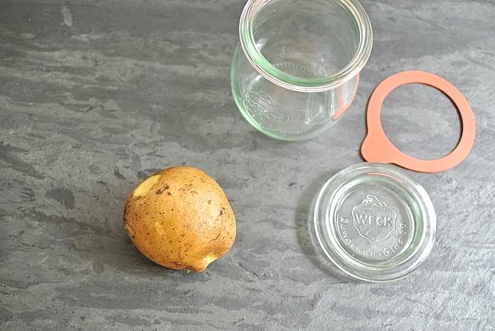離乳食初期におすすめ!お出かけにも便利なWECKを使った瓶詰め離乳食の画像1
