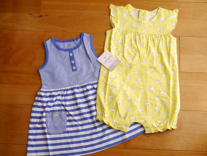 アメリカで大人気ブランド!carter's カーターズのかわいい春夏お洋服が大活躍♡の画像1