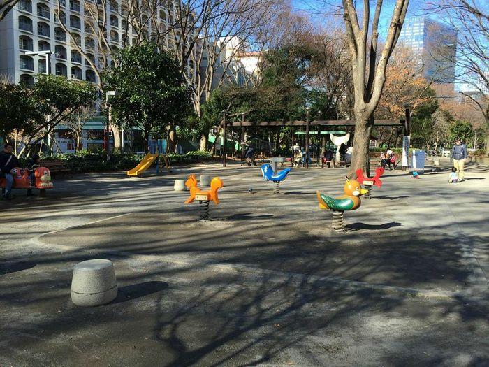 新宿にもあった!子どもが遊べる大きな公園の画像4