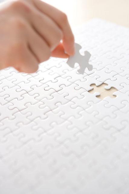 子どもにパズルを!3歳で108ピース1人で出来るようになるまでの画像1