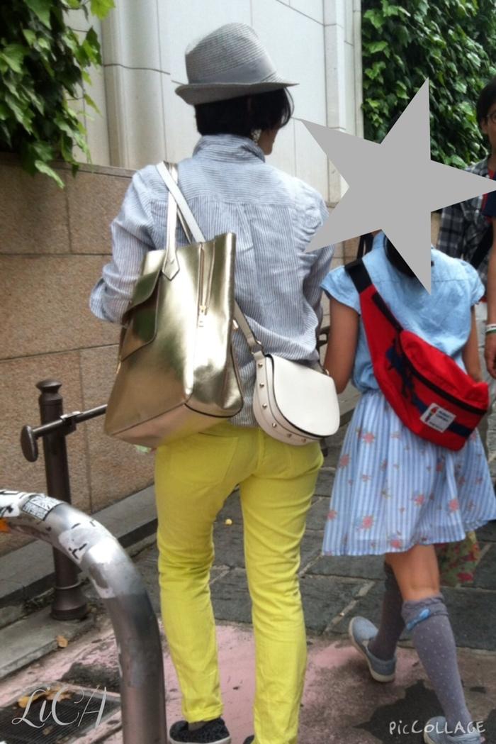 ママファッションにも取り入れやすい!子どもと小物をシェアする楽しみ方の画像3