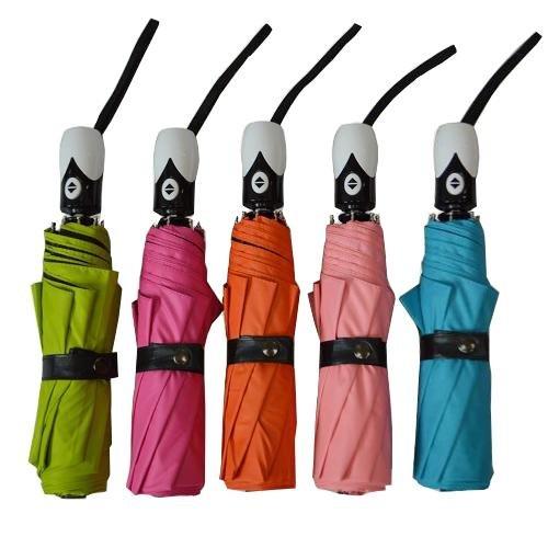 突然の雨対策に!便利で可愛いワンタッチオープンの折り畳み傘の画像2