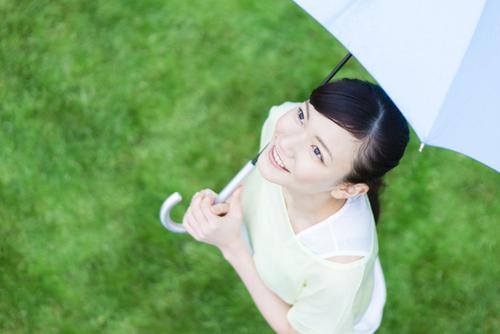 突然の雨対策に!便利で可愛いワンタッチオープンの折り畳み傘のタイトル画像