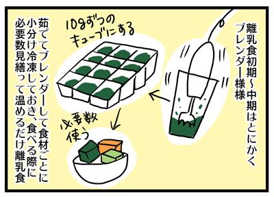 離乳食づくりを簡単手軽に♪100均のおにぎりメーカー~使った良かった育GOODS(7)~ の画像1