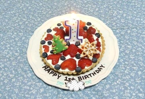 1歳のお誕生日、どんな風にお祝いする?我が家でした4つお祝いのタイトル画像