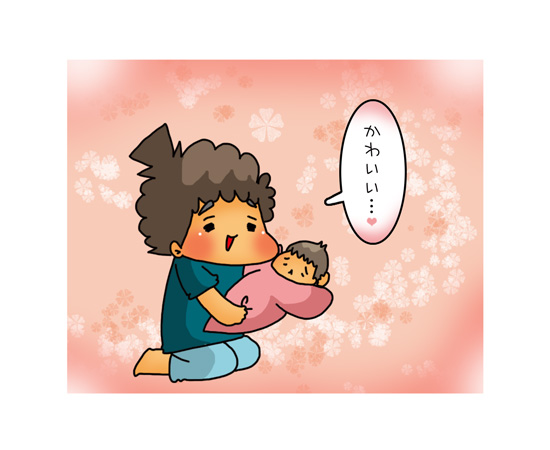 「妹のお世話したい!」気持ちは止まらない!?5歳児お兄ちゃん育児のスタート!~親BAKA日記第8回~の画像5
