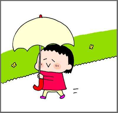 お気に入りアイテム!傘が大・大・大~好き♡2歳手前、乙女のこだわり! ハナペコ絵日記<25>の画像4