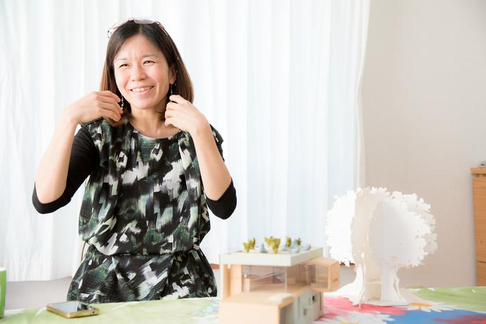 『いないいないばあっ!』のセットは空想全開で作った。子どもを尊敬すると語る建築家・遠藤幹子さんの画像8