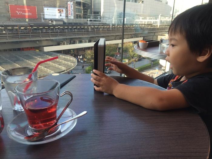 子鉄ママ必見!電車の見えるカフェ&レストラン3選<東京編>の画像2