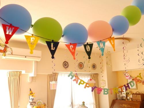 お誕生日パーティーの飾り付け♡3つのマストアイテムのタイトル画像