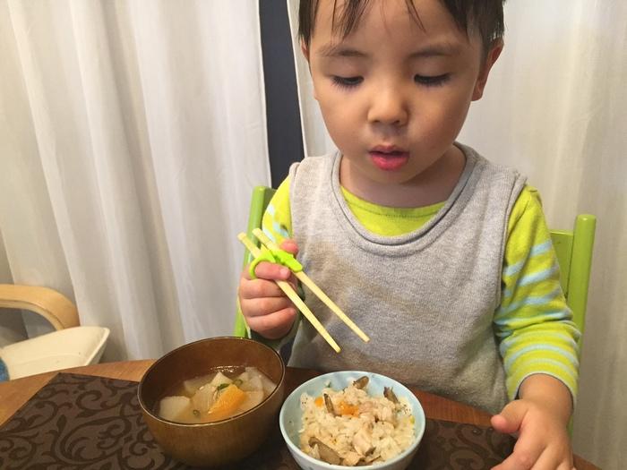 「矯正箸」って使うべき?~我が家の3歳末っ子の場合~の画像2
