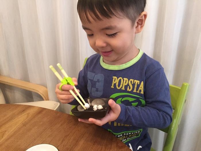 「矯正箸」って使うべき?~我が家の3歳末っ子の場合~の画像3