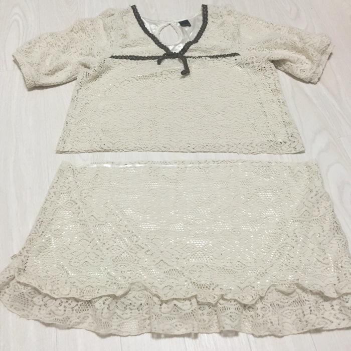 ママの着なくなったワンピースを娘のスカートに簡単リメイクする方法の画像1