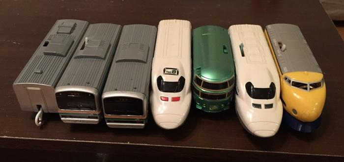 「電車は動く物じゃない、並べる物だ」思わず笑ってしまう子どもの遊び4つの画像3