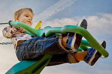 子どもと遊ぶのが苦手な人のための「子守り入門」のタイトル画像