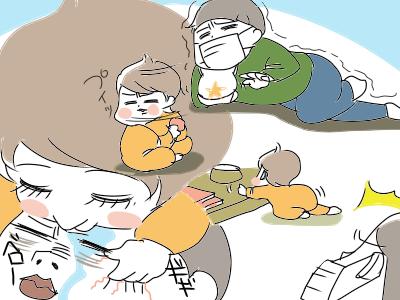 子どもの面倒見ながら休むなど「不・可・能」!の画像3