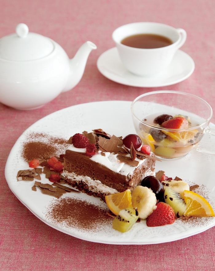 三変化!?アフタヌーンティーの新しいチョコケーキの画像1