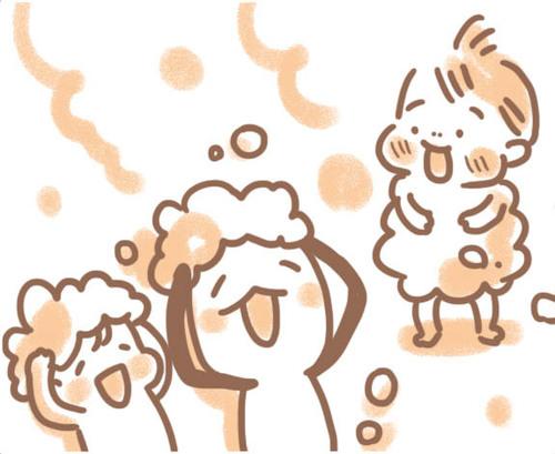 親子シャワーで「からだのなまえ」を覚えちゃおう!のタイトル画像