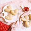 みずみずしい旬の苺を手作りパンに!ふわふわミルキーいちごのハートパン♡のタイトル画像