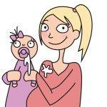 このリアリティは、ちょっと新しいかも。ノルウェー発の「妊娠・子育てあるある」のタイトル画像