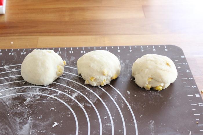 おかずパンの定番にいかが?粒コーンたっぷり♡ふわふわコーンブレッドの画像7