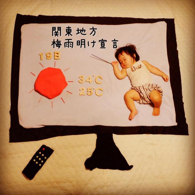 すやすや寝てる我が子をアートで飾ろう!人気の「寝相アート」が可愛い♡の画像11