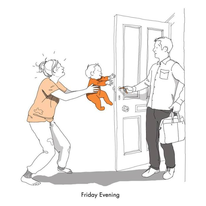 子育てあるあるは世界共通?スコットランド人ママの描いたイラストに大共感っ!の画像9