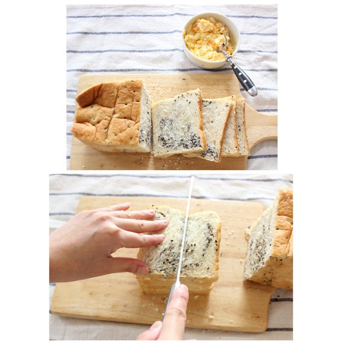 「ごま食パン」×「たまご」の組み合わせが無敵!サンドイッチの新定番レシピの画像7