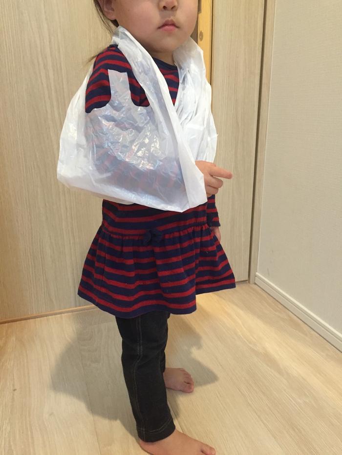 子どもが急に腕をケガした!応急処置は、どこにでもある●●が大活躍!の画像8