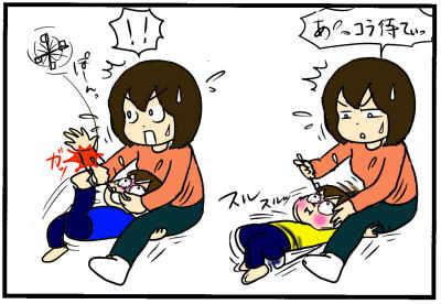 歯磨きを嫌がりすぎる次男、その意外な理由とは!?の画像2