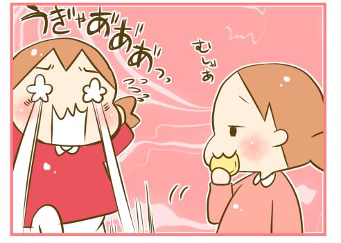 もっと食べたい!双子のパンケーキをめぐる攻防戦が、意外にも激しい(笑)の画像5