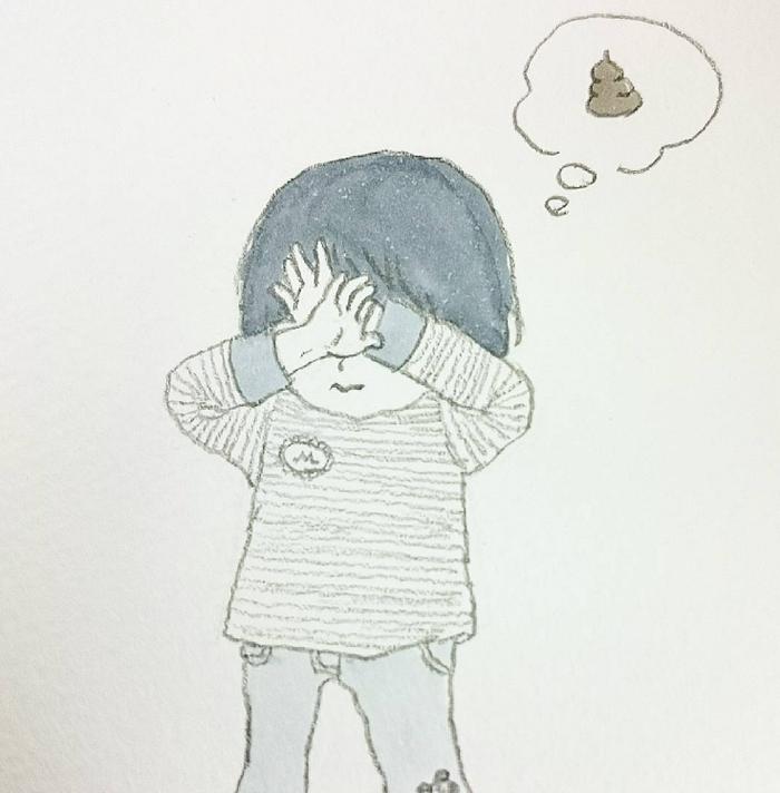 「なんでそんなことするの?!」子どもの珍行動イラストに思わず笑ってしまう!の画像10