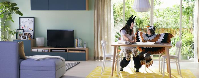 暑い夏こそ、家の中を楽しく!イケアが提案する「おうちアイデア」がインスタで話題の画像1