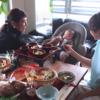 赤ちゃんと一緒に食卓を♡お食い初めにはハイチェアにもなるバウンサーがオススメ!のタイトル画像