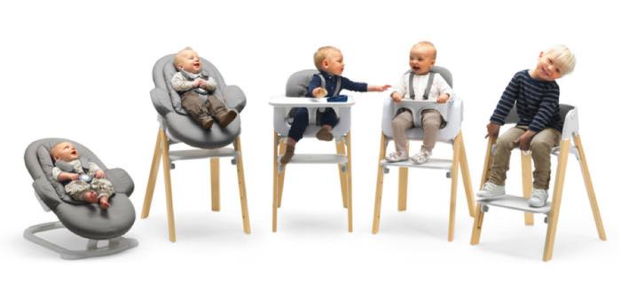 赤ちゃんと一緒に食卓を♡お食い初めにはハイチェアにもなるバウンサーがオススメ!の画像12