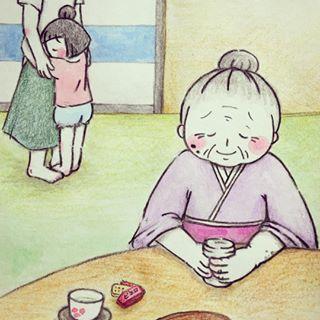 親友はおばあちゃん!88歳と3歳のやり取りが「渋カワ」すぎる♡の画像12
