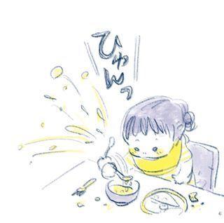 """1歳児の可愛さが""""ギュッ""""と詰まったイラストの数々。とにかく癒しパワーがすごいのです…の画像5"""