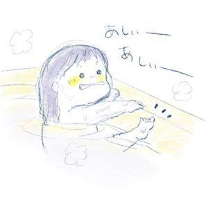 """1歳児の可愛さが""""ギュッ""""と詰まったイラストの数々。とにかく癒しパワーがすごいのです…の画像3"""
