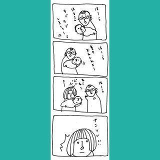 「おしりから変なの出てる…!?」心配で病院にかけつけた結果…『育児お笑い話』まとめの画像6