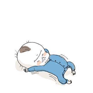「まだ寝たくないベビー&ママ激痛」何されても最後は癒される♡インスタまとめの画像6