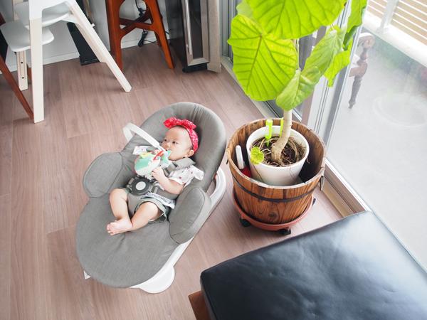 0歳児赤ちゃんとの生活がぐっと楽になる♡おすすめバウンサーの使い方5選の画像1
