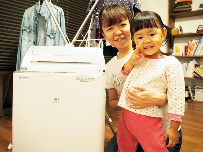 洗濯物、どう乾かしていますか?編集部ママがパナソニックの衣類乾燥除湿機を使ってみた。の画像7