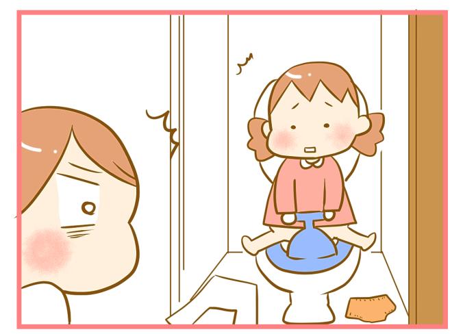 お漏らししたのに娘を「褒めた」結果、自らトイレに行くようになった話の画像5
