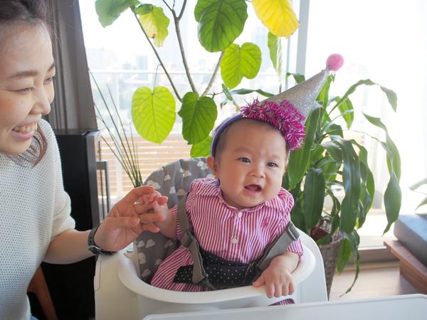 新生児から10歳まで使えるおしゃれなハイチェアで、子どもの成長を記録しよう♡の画像8